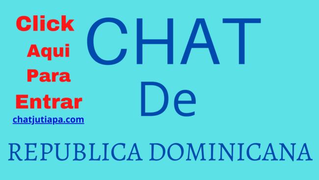 Chat de República Dominicana gratis